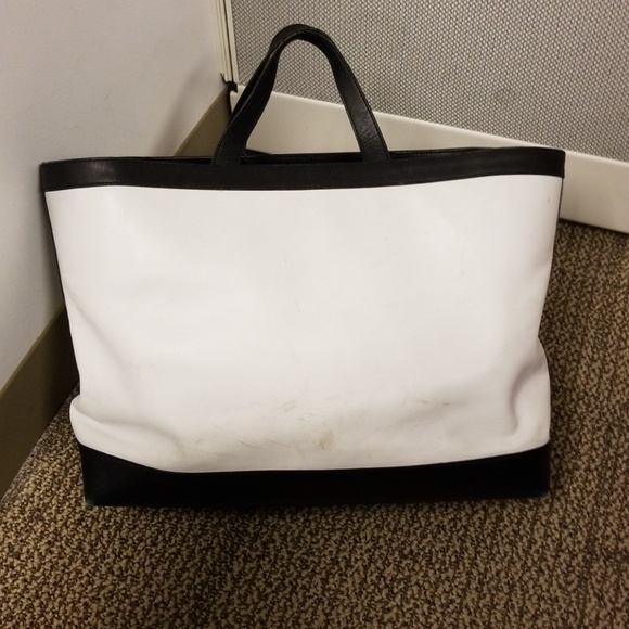 ralph lauren bags gigantic leather tote poshmark
